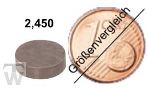 Ventilshim, 2.450 MM