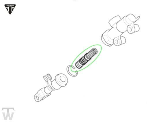 Reparaturkit Fussbremszylinder (Details)