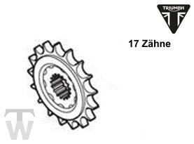 Ritzel 17 Zähne 525