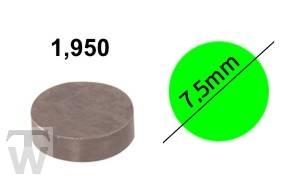 Ventilshim, 1.950 MM