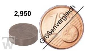 Ventilshim, 2.950 MM