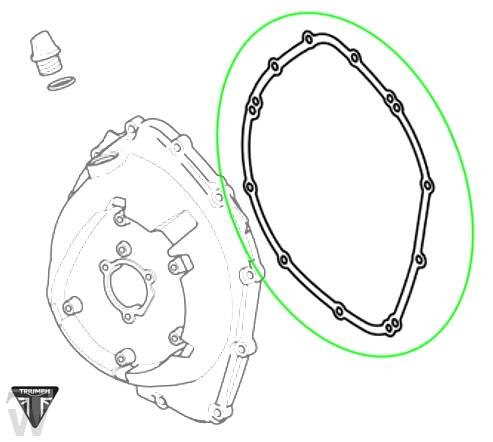 Kupplungsdeckeldichtung (Details)
