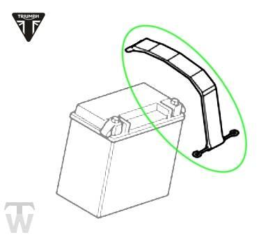 Batteriehaltegummi breit (155mm)