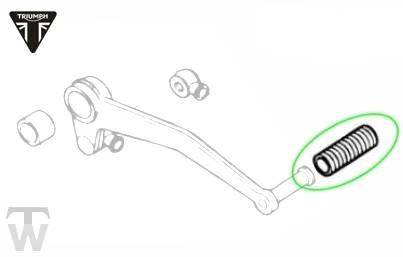 rubber gear lever (Details)