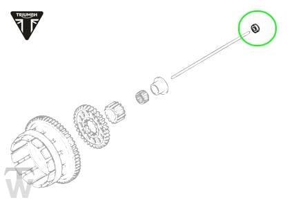 Dichtung, Kupplung Schubstange (Details)