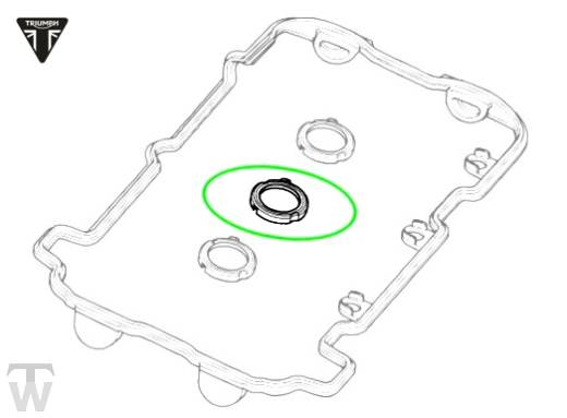 camshaft cover seal spark tower (Details)