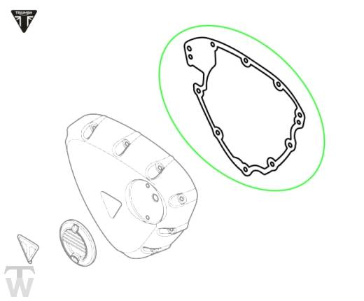 Lichtmaschinendeckeldichtung (Details)