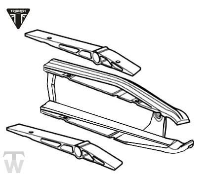 Kettenführung Kit Tiger 800 XC