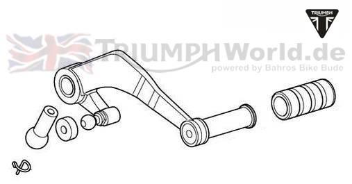 Triumph Tiger Gear Lever Tiger 1050 Setiger 1050 Se Partnr