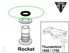 Ölsystem O-Ring 12.1X1.6 Rocket III Touring