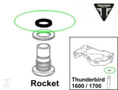 Ölsystem O-Ring 12.1X1.6 Rocket III Roadster