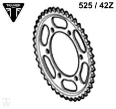 Kettenrad 525 / 42 Zähne (Details)