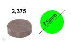 Ventilshim, 2.375 MM