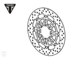 Bremsscheibe Daytona R bis FIN564947