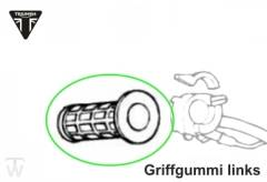 Griff links - Griffgummi Speed Triple T300 (alle Modelle)