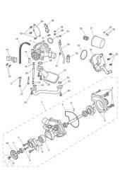 Ölpumpe Schmierung - Tiger XR ab FIN855532