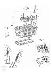 Zylinderkopf Ventile - Tiger XR ab FIN855532