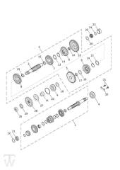 Getriebe - Scrambler 1200 XC