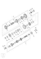 Getriebe - Scrambler 1200 XE