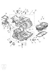 Motorgehäuse - Scrambler 1200 XE