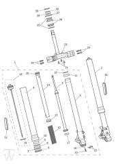 Telegabel - Scrambler 1200 XE