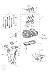 Zylinderkopf Ventile - Scrambler 1200 XE