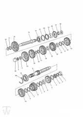 Getriebe bis Motor107968 - Legend TT