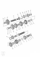 Getriebe ab Motor107969 - Legend TT