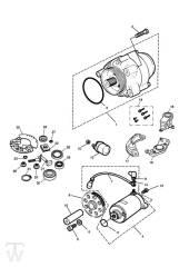 Anlasser Lichtmaschine - Legend TT