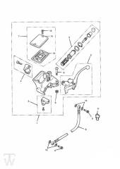 Kupplungshauptzylinder - Legend TT