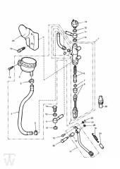 Hinterrad Hauptbremszylinder - Legend TT