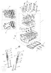 Zylinderkopf Ventile - Explorer XCA