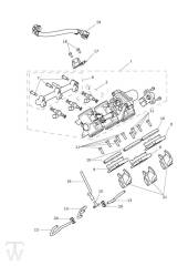 Drosselklappen Einspritzung - Explorer XRT