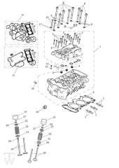 Zylinderkopf Ventile - Tiger Explorer XC