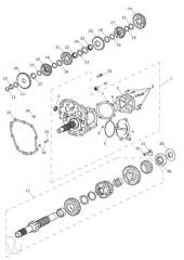 Getriebe - Trophy 1215