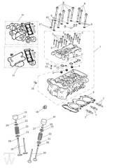 Zylinderkopf Ventile - Trophy 1215