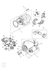Anlasser Lichtmaschine - Trophy bis Fin29155