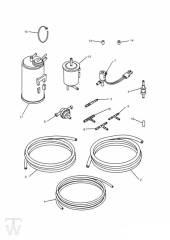 Aktivkohlefilter 4Zylinder - Trophy bis Fin29155