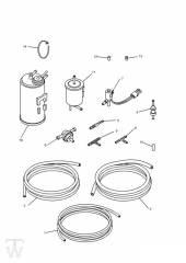 Aktivkohlefilter 3Zylinder - Trophy bis Fin29155