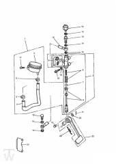 Hinterrad Hauptbremszylinder - Trophy bis Fin29155