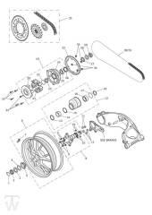 Endantrieb - Speed Triple 1050 ab FIN461332