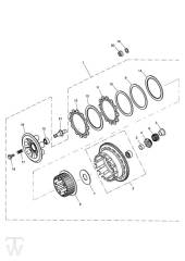 Kupplung - Speed Triple 1050 ab FIN461332