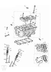 Zylinderkopf Ventile - Tiger 800 XC
