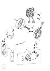 Anlasser Lichtmaschine - Speed Triple 1050 ab FIN333179