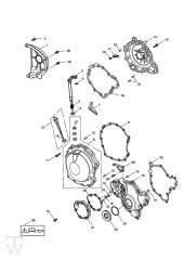 Motordeckel - Speed Triple 1050 ab FIN333179