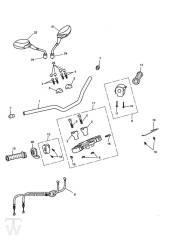 Lenker Schalter - Speed Triple 1050 ab FIN333179
