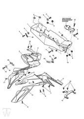 Kotflügel hinten - Speed Triple 1050 ab FIN333179