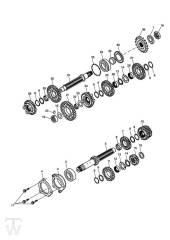 Getriebe ab Motor330119 - Street Triple bis FIN560476