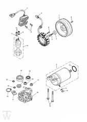 Anlasser Lichtmaschine - America Vergaser
