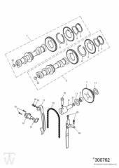 Nockenwelle Steuerkette bis Motor186916 - America Vergaser